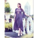 Purple Designer Kurties