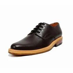 Black Men Handmade Leather Shoes