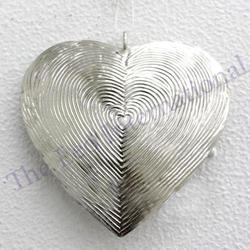 Metal Hanging Heart for Christmas gifts