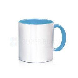 11oz Color Inside Mug With Handle Color Sublimation Printable Blanks Certified By Sgs Best Giftd