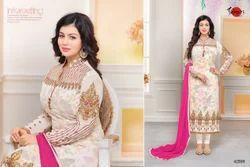 Embroidered Mafeeza Salwar Suit