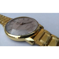 Men Formal Wear Mens Gold Plated Watch