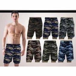 Cotton Thigh Length Men's Boxer Shorts, Size(cm): 85-90