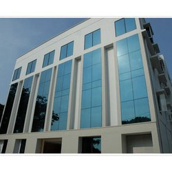 Aluminium And Glass 1 Week ACP Glass Glazing Service, Dimension/Size: More than 2000 sq.ft, Glass Thickness: 3mm