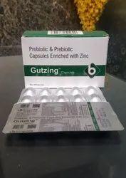 Probiotic & Prebiotic Capsules Enriched With Zinc Capsules