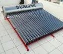 Stand less solar water heater