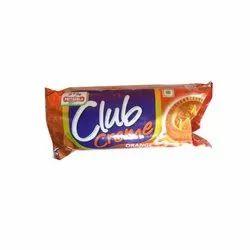 Orange Priyagold Creme Biscuits, Packaging Type: Packet