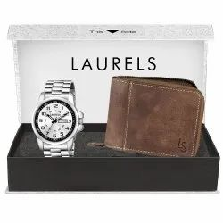 Branded Set Of Watch & Wallet With Warranty