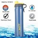 Probott Stainless Steel Double Wall Vacuum Flask Flip Sports Bottle 750ml (PB 750-15)