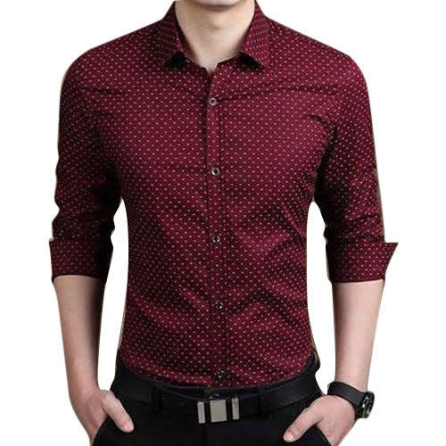 Mens Satin Printed Shirt, Mens Printed Shirt - IKRA Fashion, Delhi ...