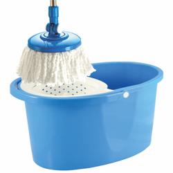 Stainless Steel,  Spin Cleaning Mop