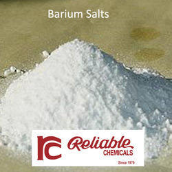 White Barium Salts
