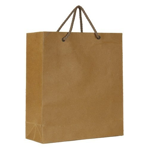 Brown Plain Paper Bag, Capacity: 2kg