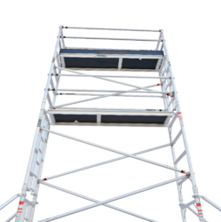 Aluminum Single Width Mobile Scaffolding without Stair
