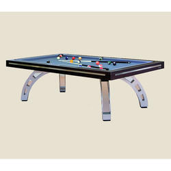 Wooden Pool Cum Dining Table