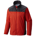 Full Sleeve Red And Black Mens Winter Jacket