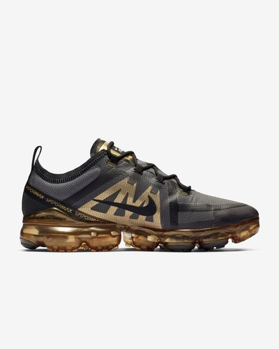 best sneakers bbe9b 439f0 Golden And Grey Nike Air VaporMax Shoe