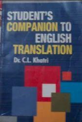 Students Companion To English Translation Editors Books