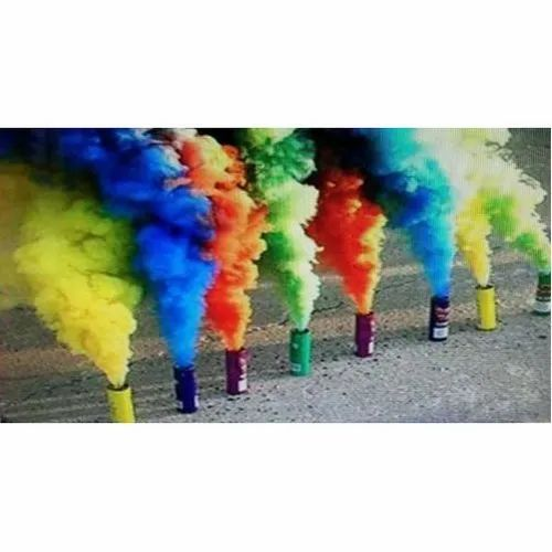 Colour Cans Smoke Bombs Fire Crackers Kurali Mohali Aggarwal