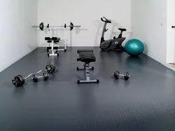 Rubber Gymnasium Flooring