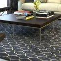 Printed Rectangular Living Room Carpet