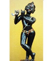 Iskon Krishna Statue