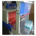 Web Sealer With Shrink Machine Semi Auto Bottle Packing