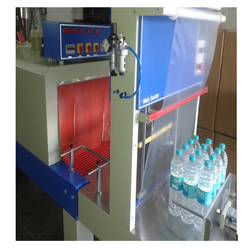 Web Sealer With Shrink Machine Semi Auto Bottle Packing