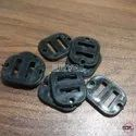 8mm Plastic Square Buckles Black