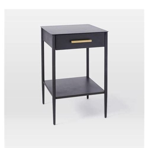 Metal Bedside Table