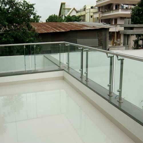 Stainless Steel Roof Railing Rs 150 Square Feet Perfect Enterprises Id 17711619391