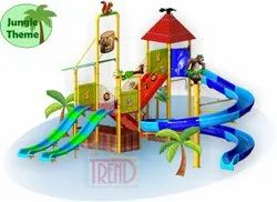 Open Body Slide With Jungle Theme