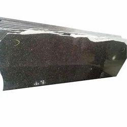 Thick Slab Black Galaxy Granite, Thickness: 15-20 Mm