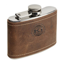 Stainless Steel Hip Flask, Assorted Colors