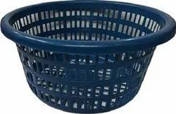 Blue Plastic Jali Tokra