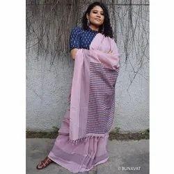 Party Wear Ladies Cotton Begumpuri Saree