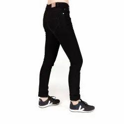 Ladies Black Denim Jeans, Handwsah