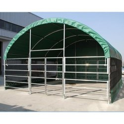 Prefab Green Prefabricated PVC Shed