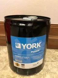 york chiller refrigeration oil