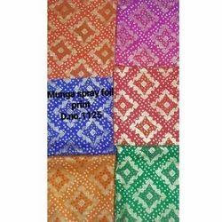 Bandhani Foil Printed Fabric