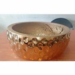 Brass Round Wash Basin