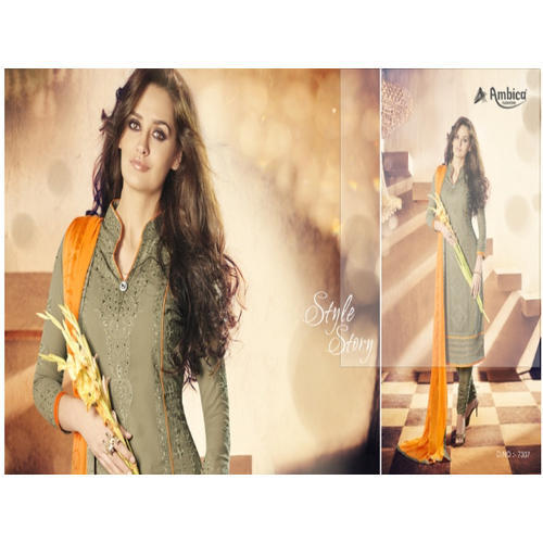 Women Georgette Semi-Stitched Salwar Suits