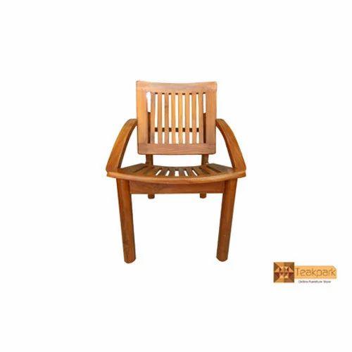Relish Teak Wood Sitout Chair