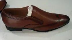 Tan Designer Leather Shoes