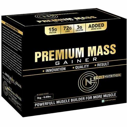 Weight Gainer Premium Mass Gainer, Powder