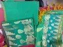 Chiffon saree,pure cotton silk,khadi work,