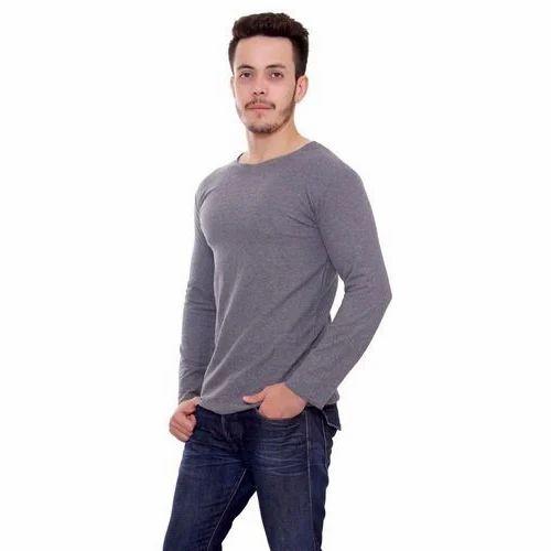 d1aa84d4c501 Men's Woolen T-Shirt at Rs 300 /piece | Mens Round Neck T Shirt | ID ...