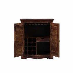 Brown Wooden Wood Wardrobe