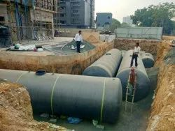 FRP Tank for Sewage Treatment Plant
