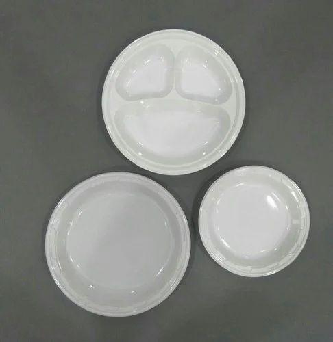 Disposable Plastic Dinner Plate